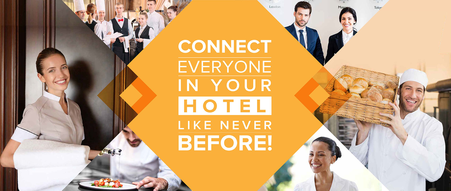 Connect everyone in your Hotel like never before